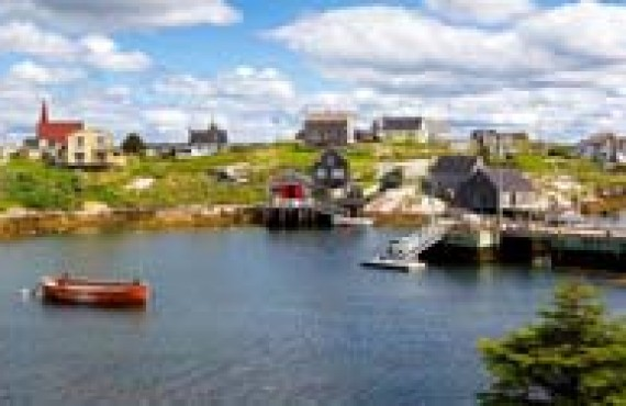 Village de Peggy's Cove, Nouvelle-Écosse