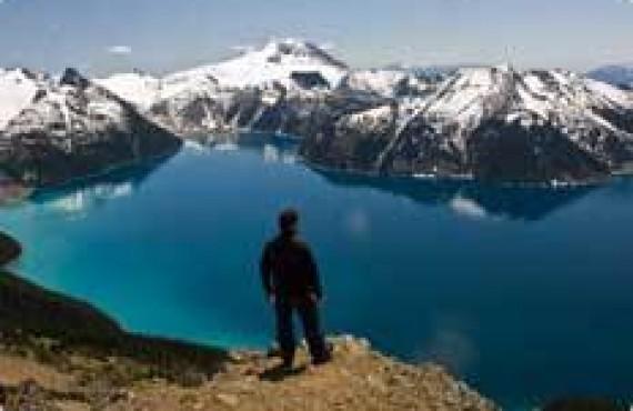 Randonnée dans la Région de Whistler