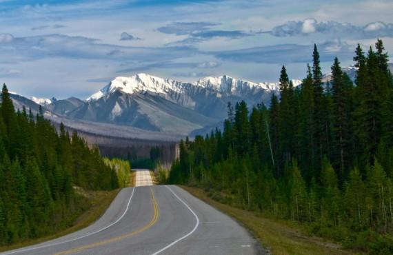 Banff-Windermere Highway Canada