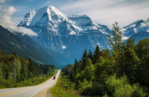 Yellowhead Highway Mount Robson