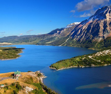 Parc national des lacs Waterton