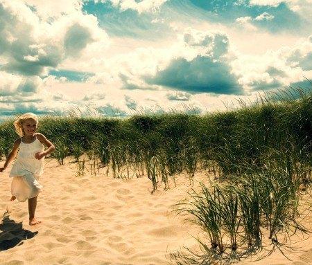 Sand dunes, Kouchibouguac, New Brunswick