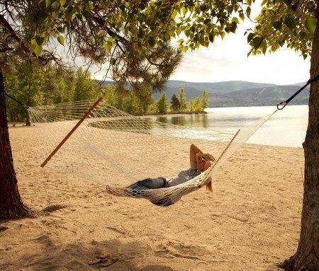 Relaxing on Sun-Oka Beach