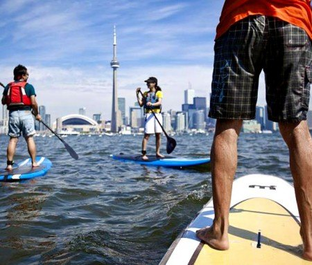Paddle Board on Lake Ontario