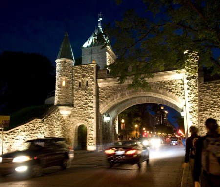 St-Louis Gate, Old Quebec
