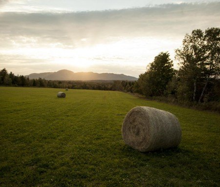 Scenic landscape of the Eastern Townships