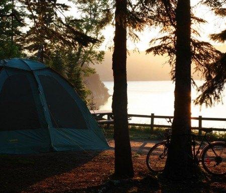 Camping in Petit-Saguenay
