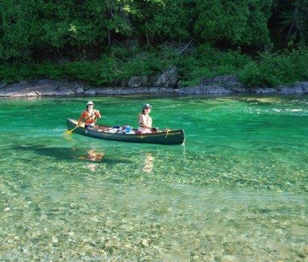 Bonaventure River canoe run