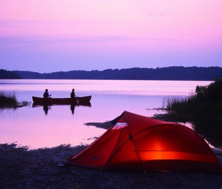 Camping/canoeing in Mauricie
