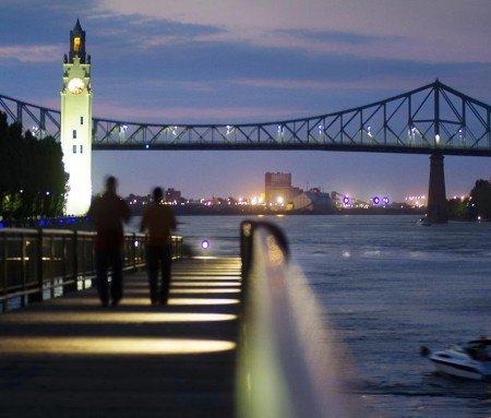 Walk in the Old Port of Montreal