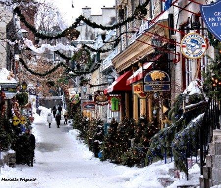 Shopping dans le Vieux-Québec