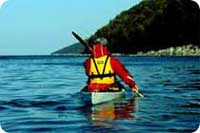 kayak sur le saint-laurent
