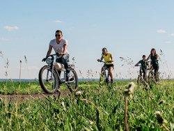 À vélo sur l'île d'Orléans, Q