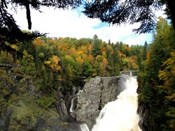 Chute du Canyon Ste-Anne