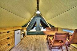 Camping en Tente Huttopia