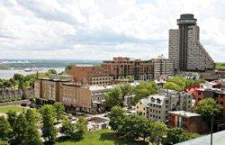 Dîner sur le toit du Vieux-Québec
