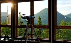 Auberge Montagne Chic-chocs - Vue sur les montagnes
