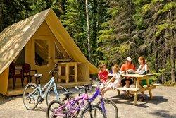Tente Huttopia - Mont Orford
