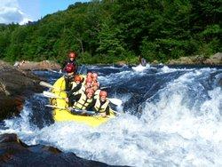Rafting sur la Jacques-Cartier