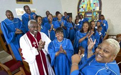 Concert gospel à Harlem
