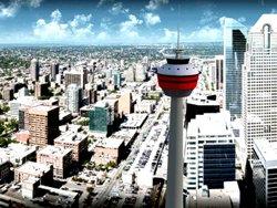 Dîner dans le ciel de Calgary