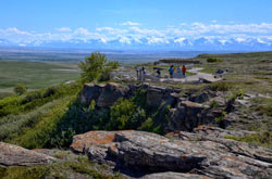 Head-Smashed-In Buffalo Jump - Vue