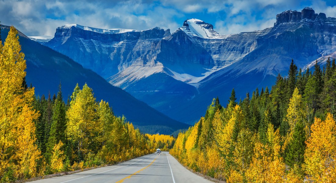 icefields parkway points of interest