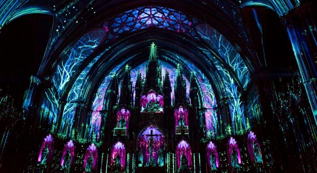Spectacle Aura à la Basilique Notre-Dame