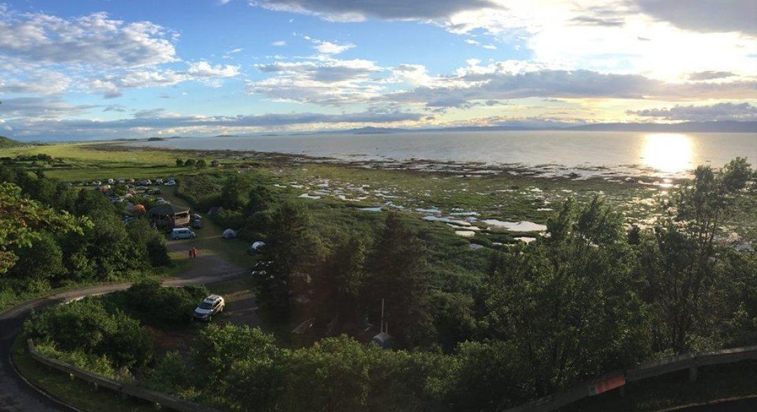 camping bord de l'eau Québec