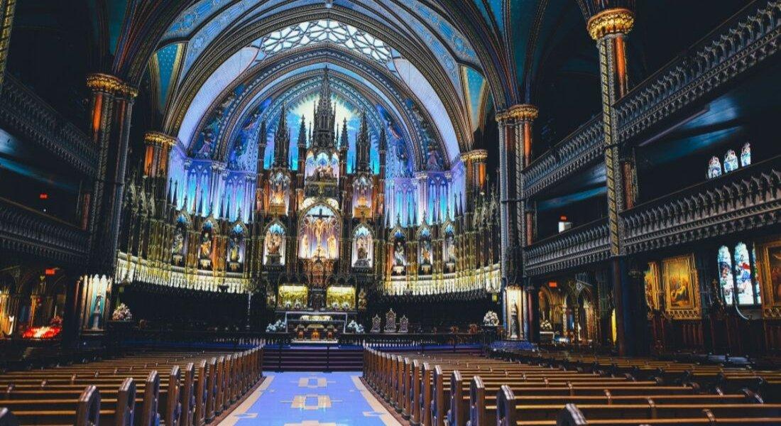 Intérieur de la Basilique Notre-Dame