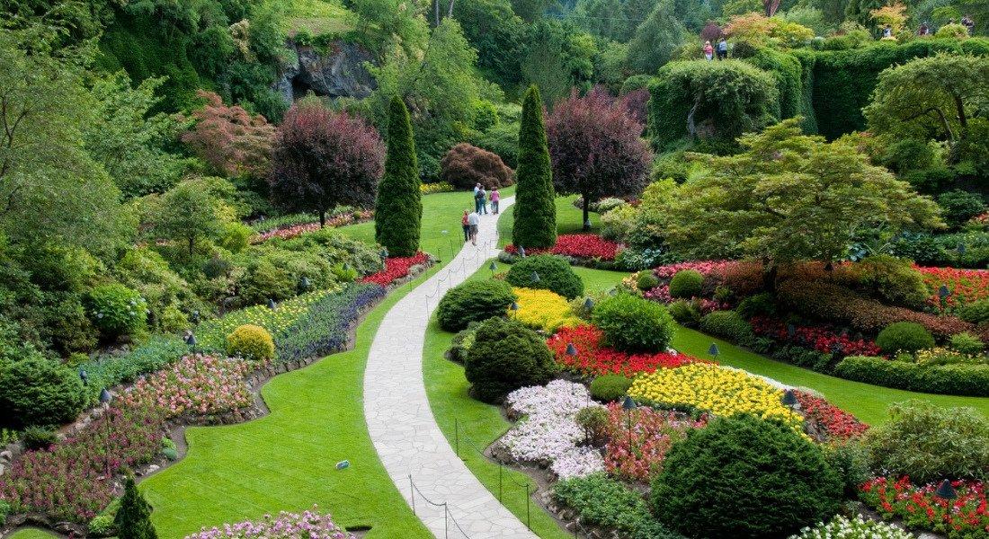 Jardins Butchart à Victoria