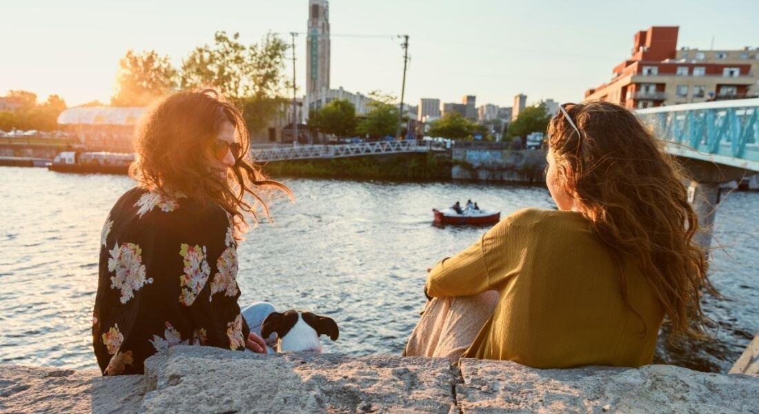 Pique-nique sur le Canal Lachine