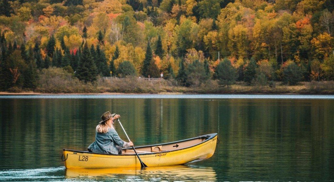 Parc national du Mont-Tremblant en automne