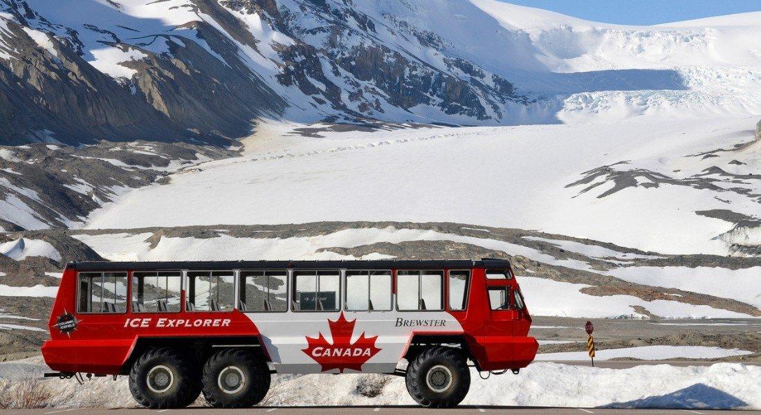Tour guidé du glacier Athabasca