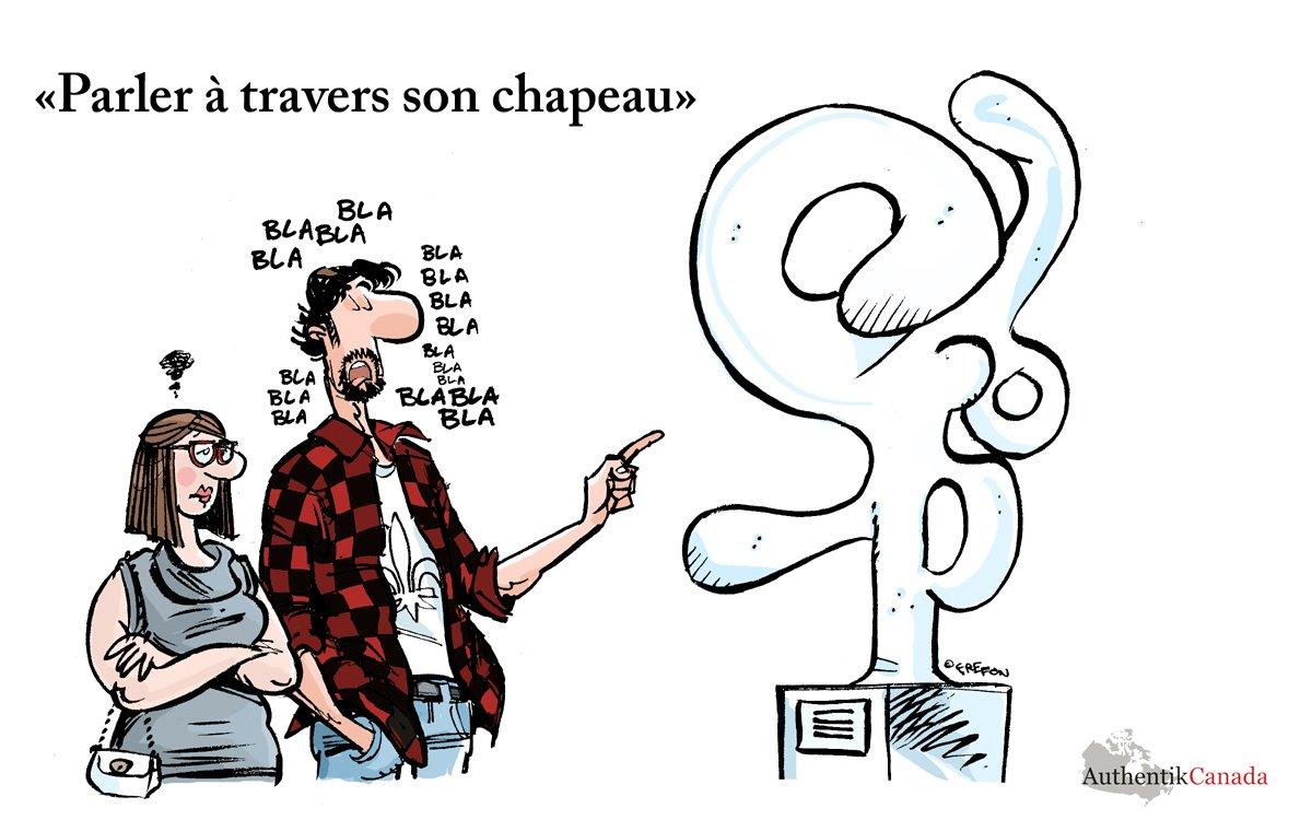 expression québécoise rigolote