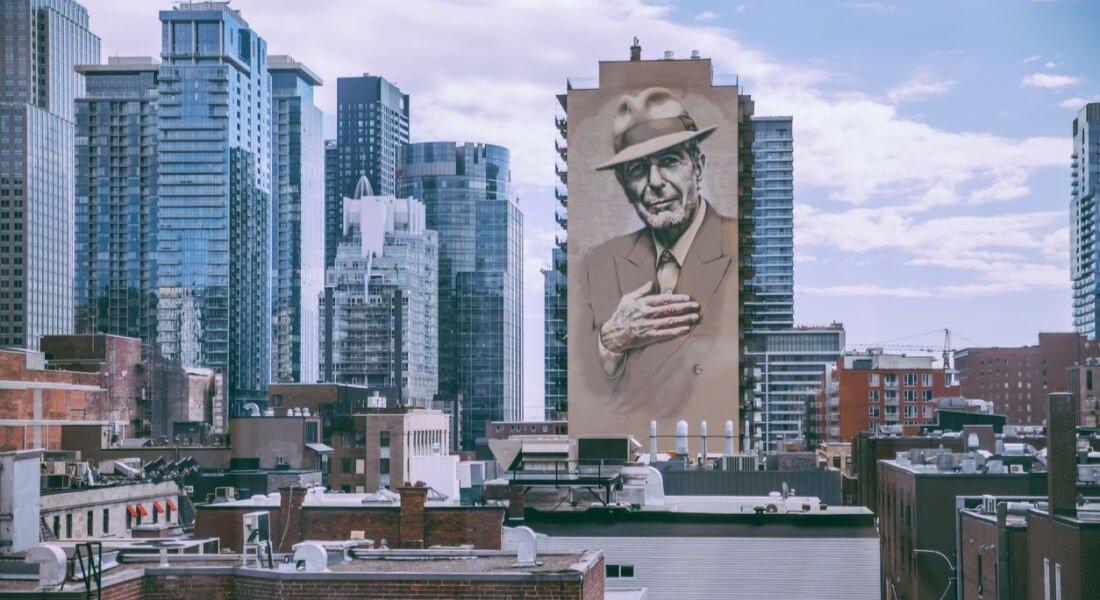 Murale Léonard Cohen Montréal