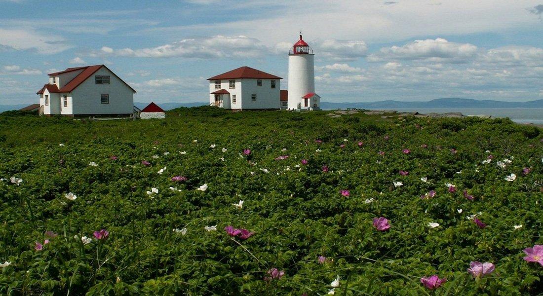 Le phare de l'ile Verte