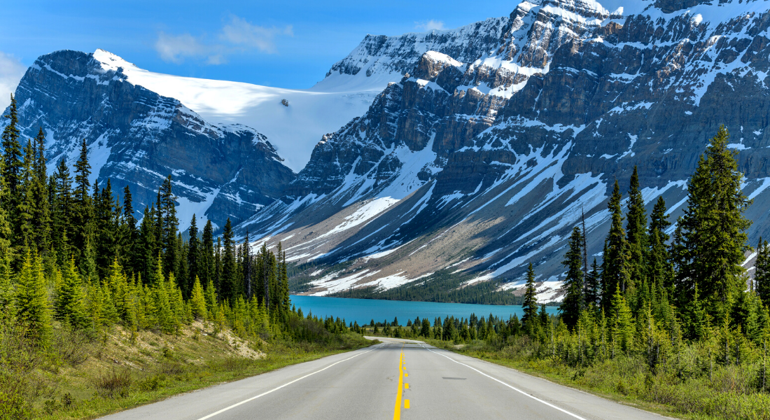 Icefields Parkway between Banff and Jasper [The ultimate guide]