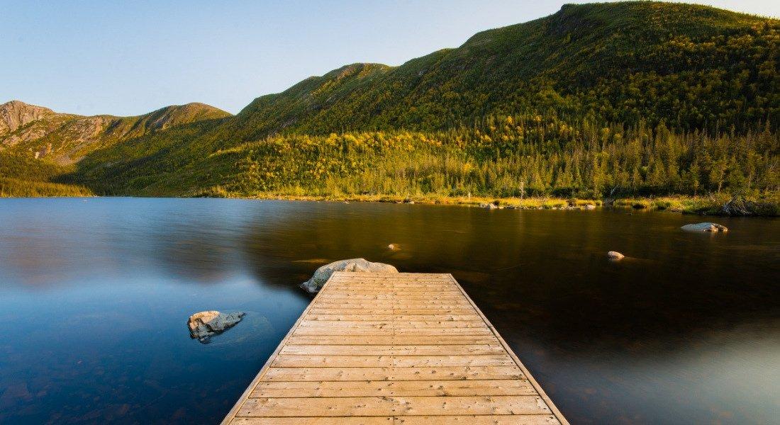 Randonnée pédestre sur le sentier du Lac aux Américains