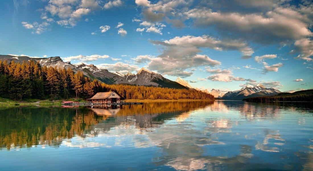 Lac Maligne, Parc National Jasper