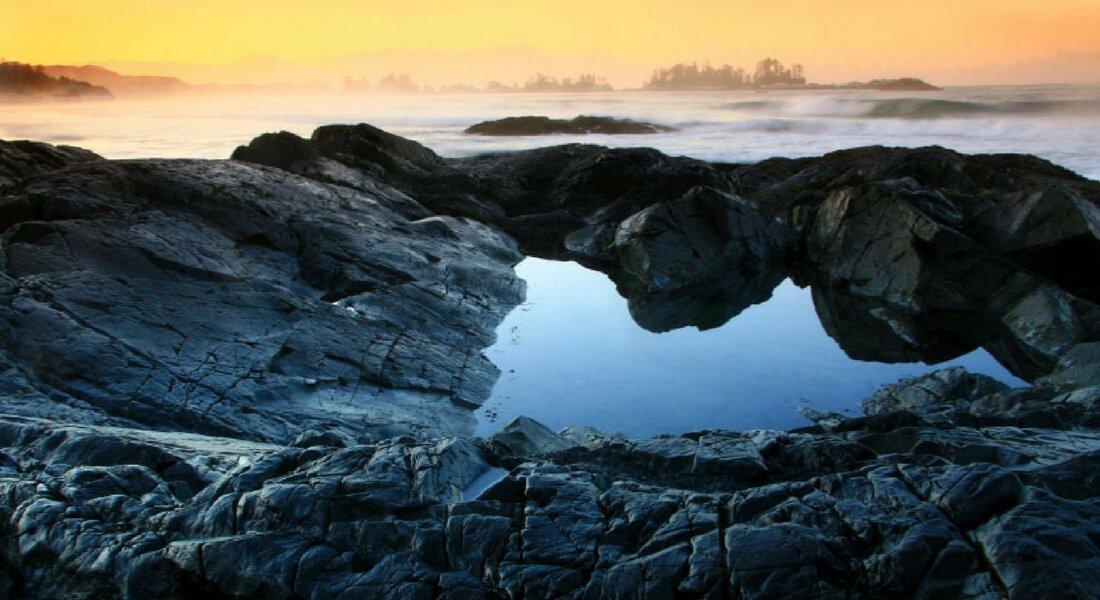 Long Beach dans le parc national du Pacific Rim