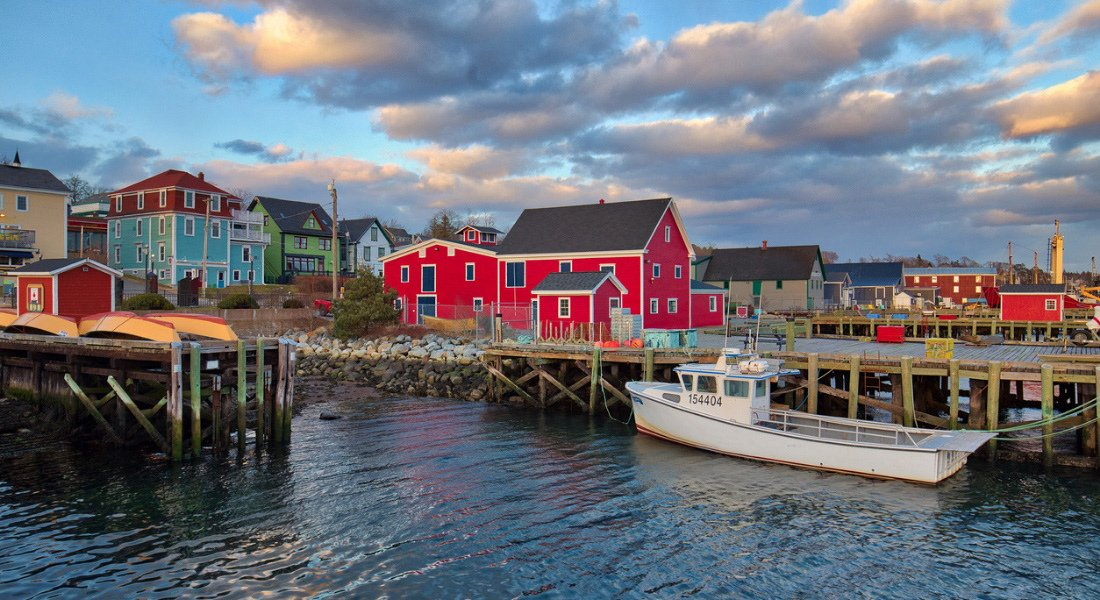 Colonial town of Lunenburg