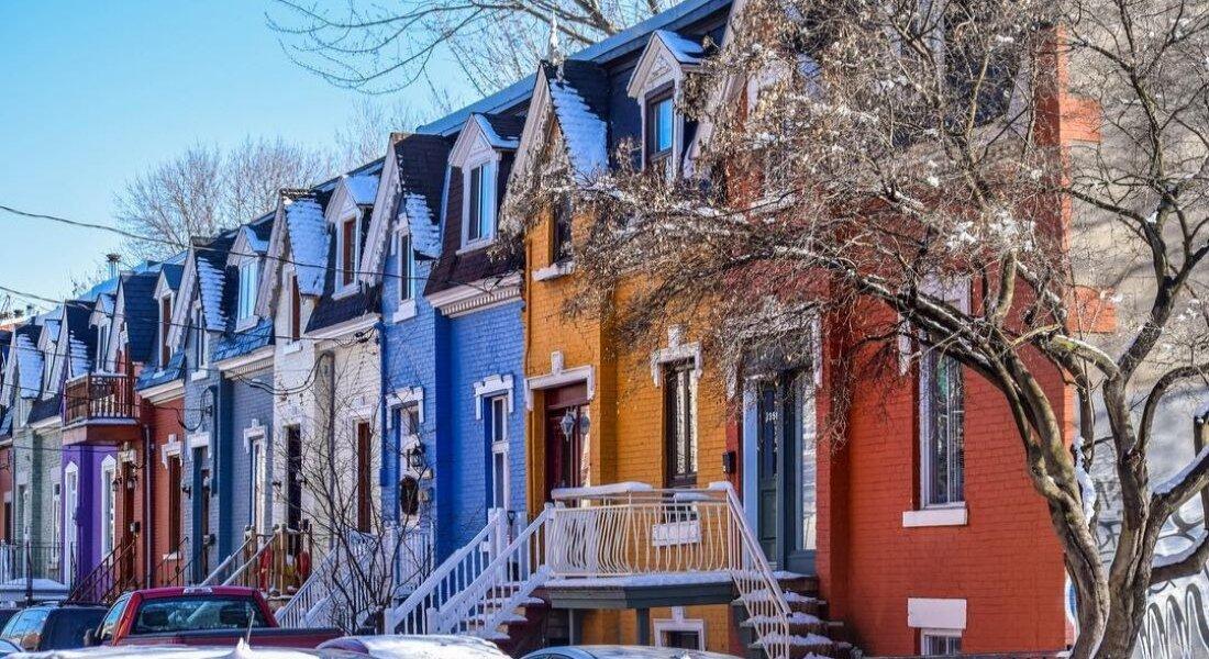 Maisons de la rue Drolet à Montréal