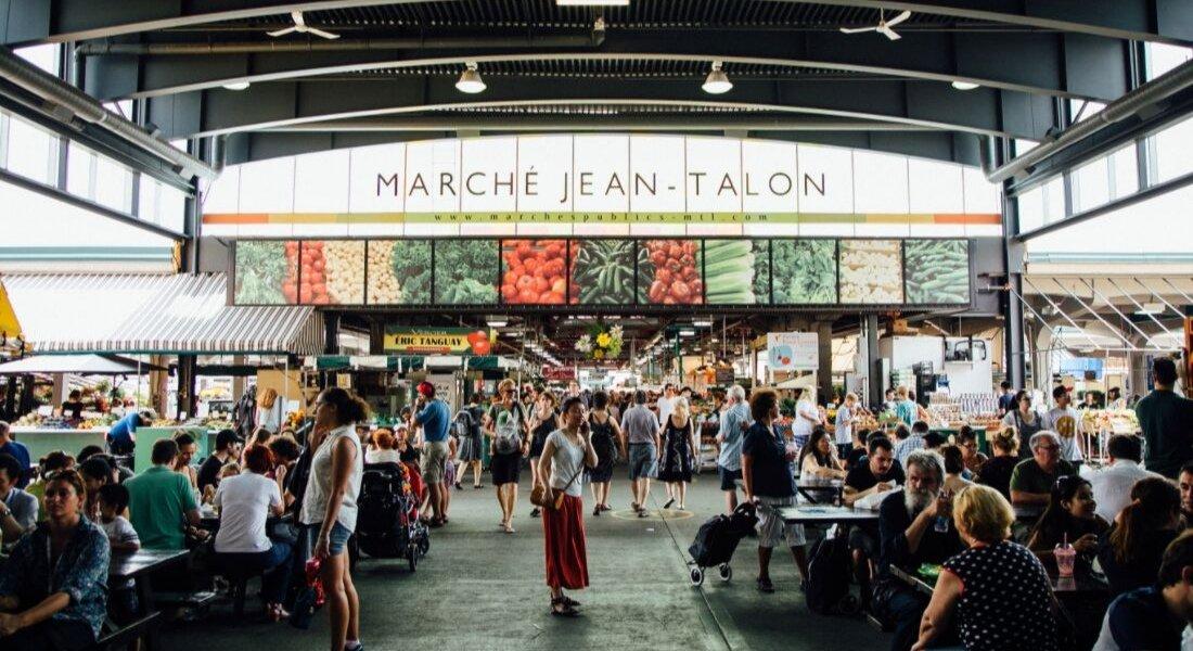Marché Jean-Talon de Montréal
