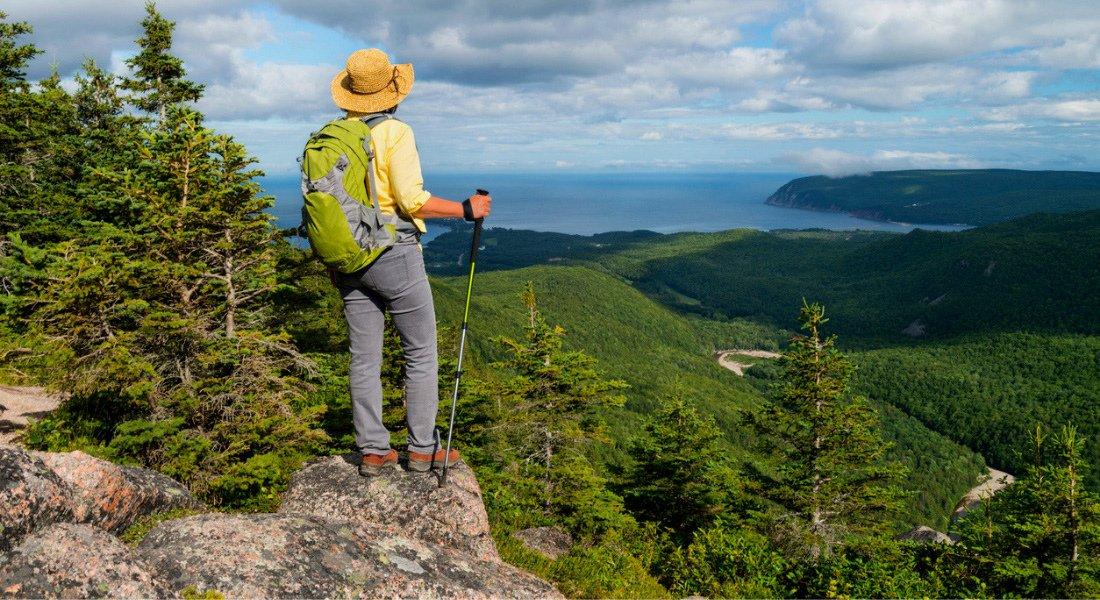 Franey Mountain trail, Cape Breton