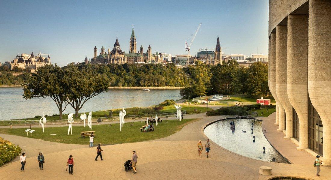 Musée canadien de l'histoire à Ottawa