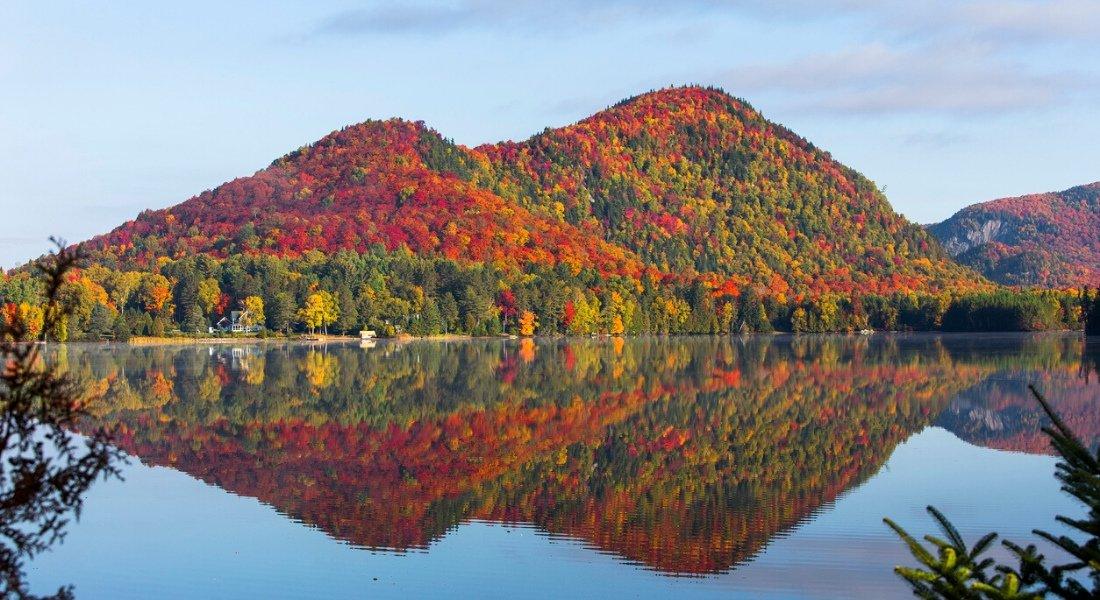 Parc du Mont Tremblant en automne