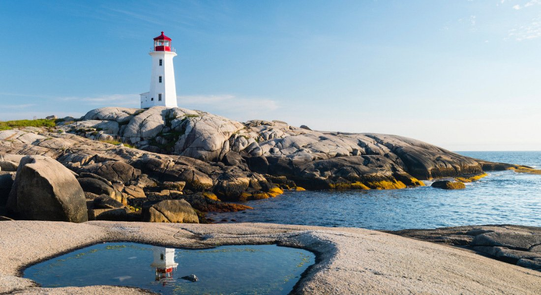 Lighthouse in Peggy's Cove