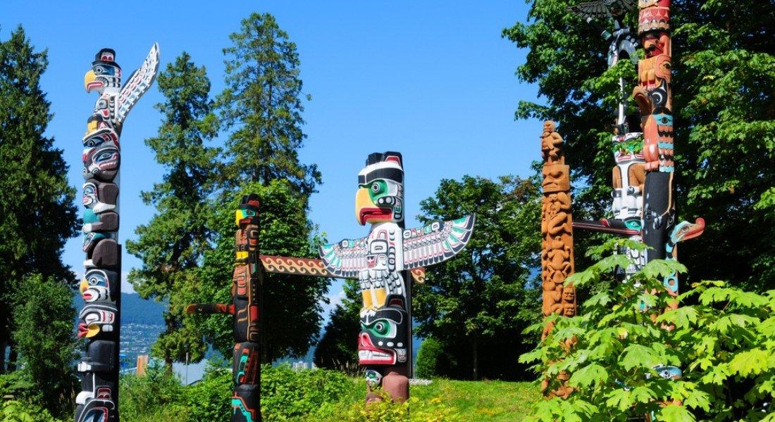 Art autochtone Stanley Park