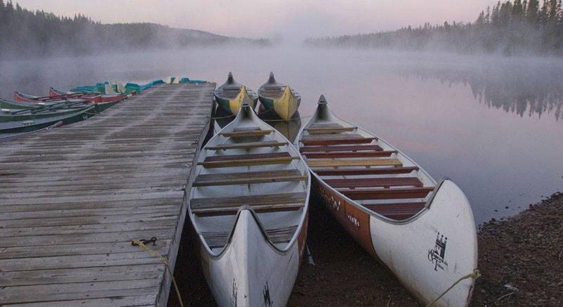Canot au Québec